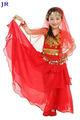 Criança dança do ventre desgaste crianças vestido da dança árabe crianças dança usa top e saia ET-008 #