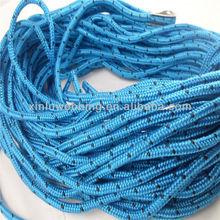 blau polyester seil geflochten