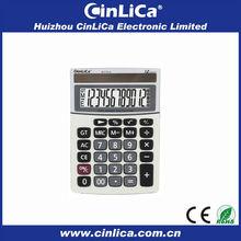 Large solar mini desk calculator JS-272LA steel sheet weight calculator