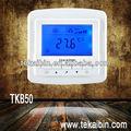 Tekaibin tkb serie aire acondicionado piezas de metal para la ventana y aire- acondicionado fcu termostato con pantalla lcd