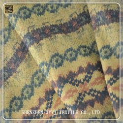 Wholesale polyester tr imitated sofa fabric brushed corduroy fabric