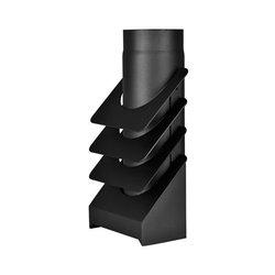 Flue pipe radiators HS Flamingo 1,5mm 4fin