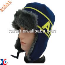 Russian style ski hat