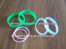 manufacturer supply logo free cheap custom fashion silicone bracelet