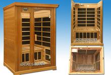 2 person infrared sauna room,infared detox sauna,Steam infrared sauna