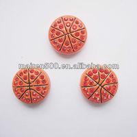 Hotsale rhinestone basketball slide charm sports jewelry (JS-003)