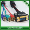 Wholesale!High quality !! Promotion vga cable to rca cable