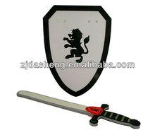 EVA soft and safe foam utlery,eva kids knife and sword toys,eva art weapon