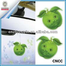 Novelty apple design paper car air freshener (ZY20-5467)