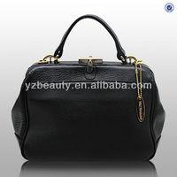 Adore fashion new image lady black leather handbag