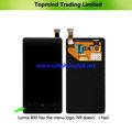 telefone móvel de peças de reposição para nokia lumia 800 lcd