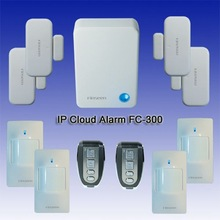 Burglar smart home IP Cloud alarm system with control by app