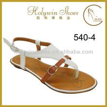Woman Shoe Fashion Flat Summer Sandals 2014 for Women No Heel Shoes Sandal