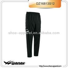 Duarable full hip padding long pants goalkeeper men wholesale