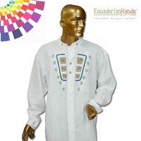 Ethnic clothing - Otavalo Shirt 4 Hand Embroidered 100% Cotton