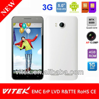 """New Quad Core Android 4.1 Dual Sim 13.0MP camera 3G 5"""" mobile phone"""