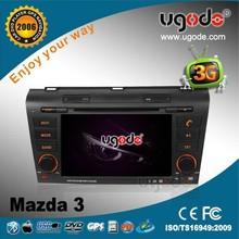 ugode 7 inch car DVD GPS for Mazda 3 2004-2009