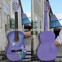 36inch Classical student nylon guitar String Guitar Purple