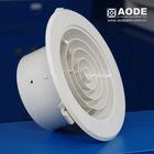 Plastic (A.B.S.) round air diffuser Down Jet (HVAC air grill, air register, vent)