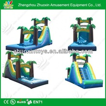 Promotional factory price giant inflatable monster slide