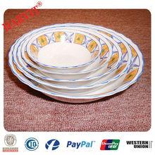 Cheap Dinnerware 5pcs White Ceramic Soup Bowl Porcelain Soup Bowl Set