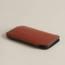 "mobile phone pouches,100% italian vegetable tanned leather retail packaging for iphone,for iphone 5"" case luxury"