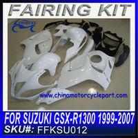 Aftermarket Motorcycle Fairings For Suzuki gsxr 1300 For Hayabusa 1999-2007 UNPAINTED FFKSU012
