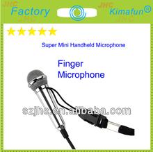 Handheld Finger Mini Microphone Low Price HC-4043