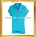 Maglia ladies' sport pianura magliette/dri fit t- shirt ingrosso/vestiti da donna made in cina di abbigliamento prezzo di fabbrica di fornitura