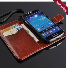 Hot selling wallet case for samsung galaxy s4 i9500