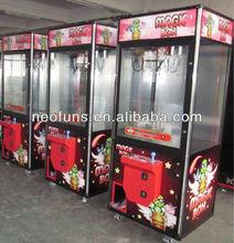 2014 hot sale claw crane vending machine/ toy catch machine (CE certificated)