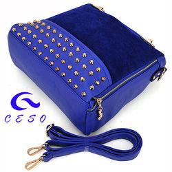 Fashion lady leather travel bags,shenzhen handbag wholesale