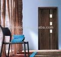 de cristal de pvc interior puerta de madera