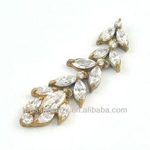 Fashion Crystal Long Drop Earring