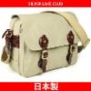 Canvas Travel Shoulder Bag SILVER LAKE CLUB made in Japan - 130123 | 10