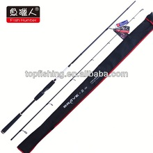 2.74m long spinning carbon fishing rod with EVA handle