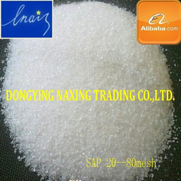 De potasio polyacrylate para la agricultura