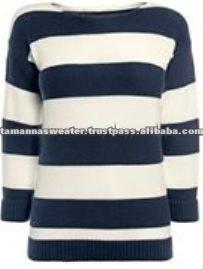 Viscose Nylon Knitted Sweater