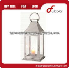 stainless steel lantern candle garden