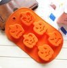 2014 Halloween Promotion Reinforce Rectangle Shape Soap Mold Silicon Soap Mould