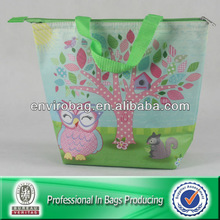 Lovely design for nonwoven insulated lunch bag cooler bag