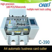 High Precision Business Card Cutter Machine for High Speed Card Cutter