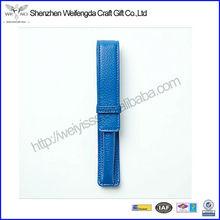 Unique Fashion Design Promotional Factory Leather pen and pencil case