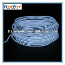 White EL Wire Cold Neon Lights Backlight