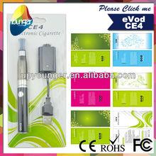 Evod ce4 blister kits with 900mah evod battery ce4 blister kits *1pcs, ce4 Atomizing *1pcs;USB charger* 1