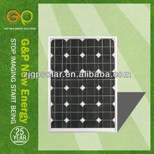 TUV IEC poly 55 watt sharp solar pv panel photovoltaic