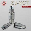 ZJ-YCT Empujón y Estirón Tipo Granja Tractor Hidráulico Rápido Acoplador (ISO5675)
