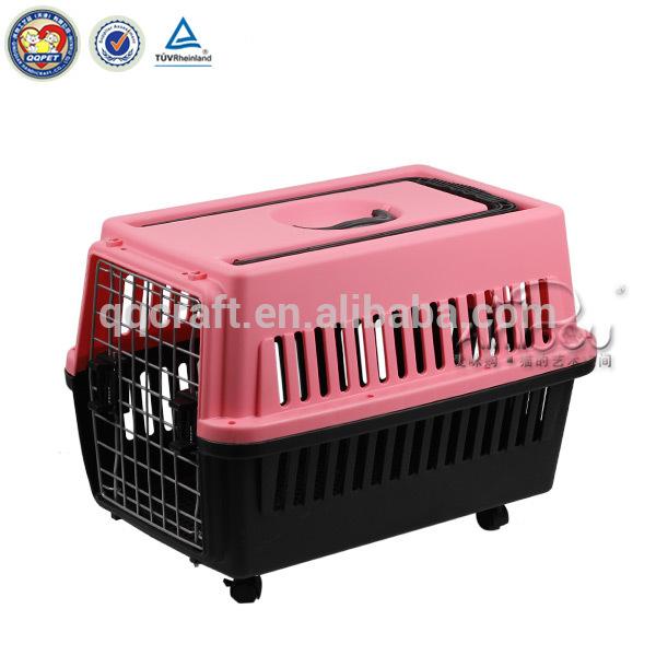 New design wholesale popular plastic dog cage & large dog cage