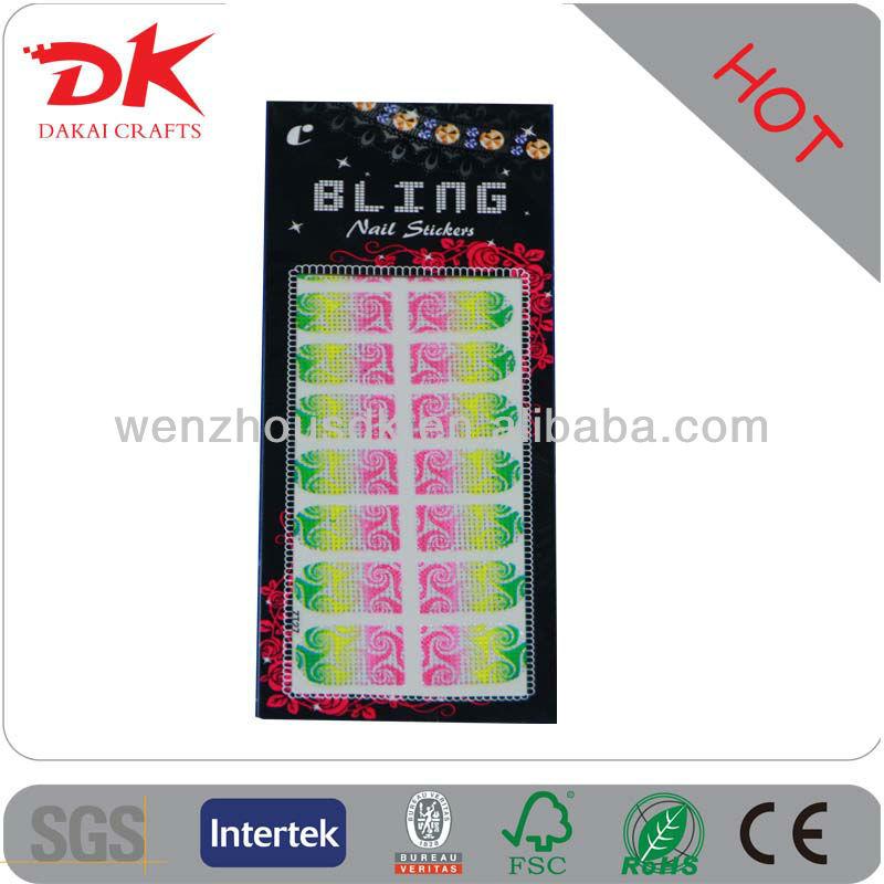 decorative holiday cartoon nail art sticker