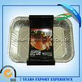 microondas descartáveis folha de alumínio da caixa de almoço